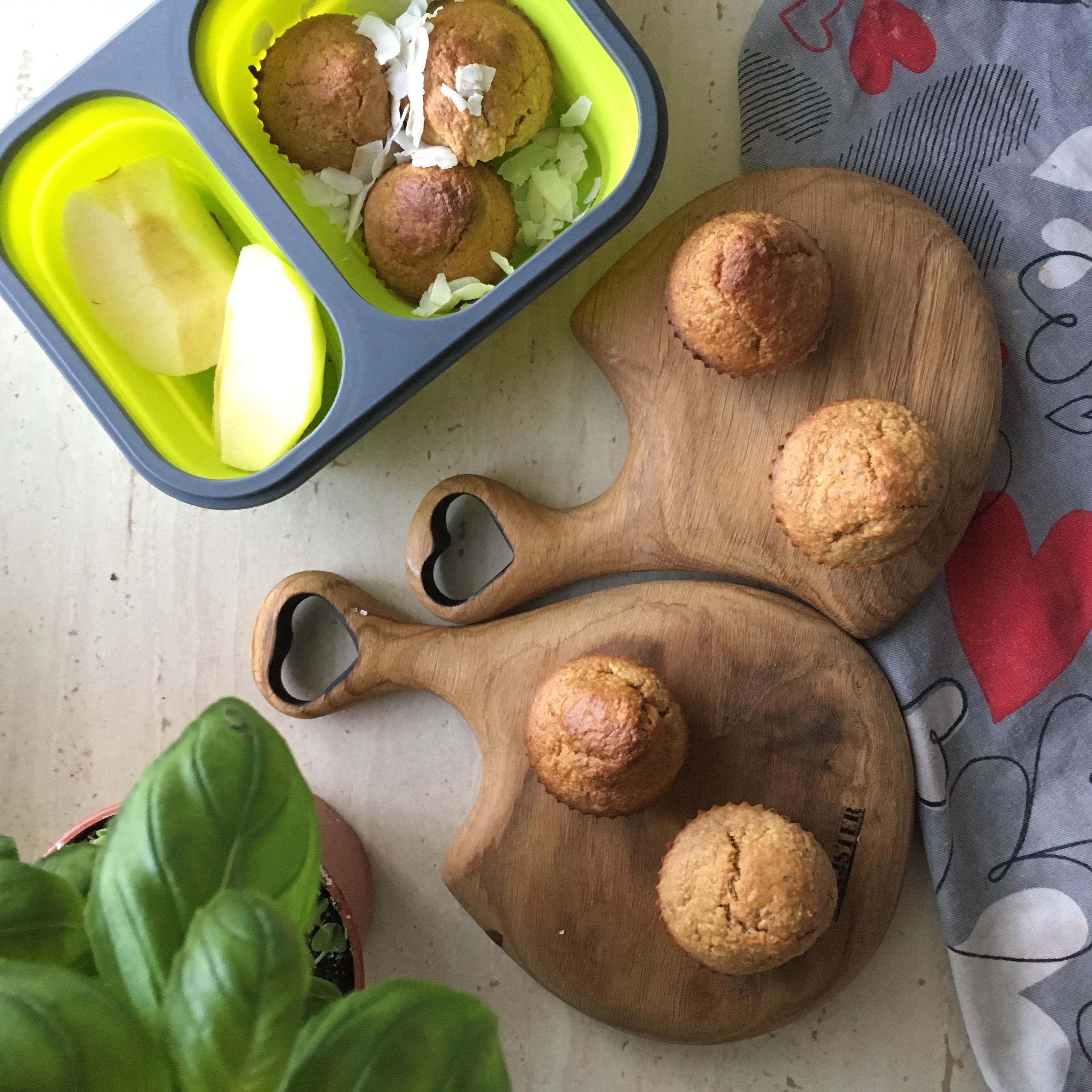 muffinki marchewkowo-jabłkowe z chia