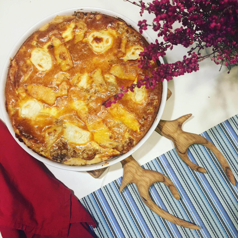 quiche tarta z kurkami
