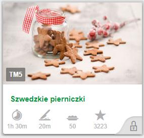 Szwedzkie pierniczki