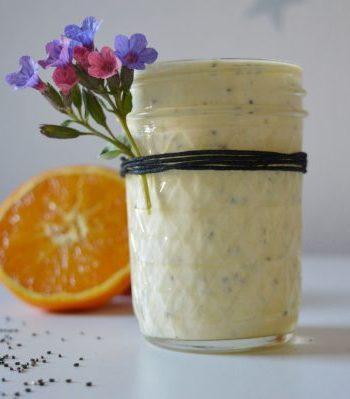 sos jogurtowo pomarańczowy
