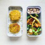 pomysły na lunchbox dla dzieci do szkoły Kotleciki brokułowo-jajeczne
