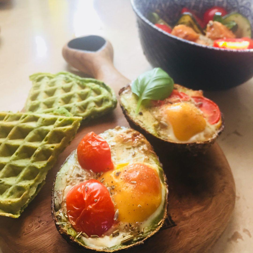pieczone awokado z jajkiem thermomix przepisy