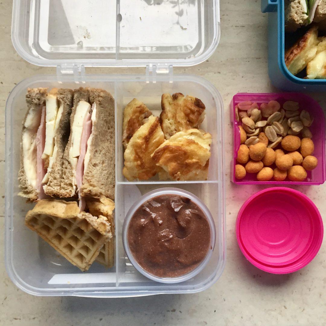 lunchboxy dla dzieci budyń czekoladowy