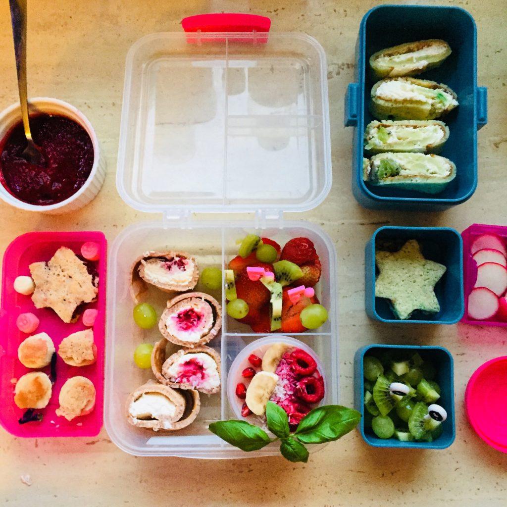 pomysły na lunchbox dla dzieci do szkoły