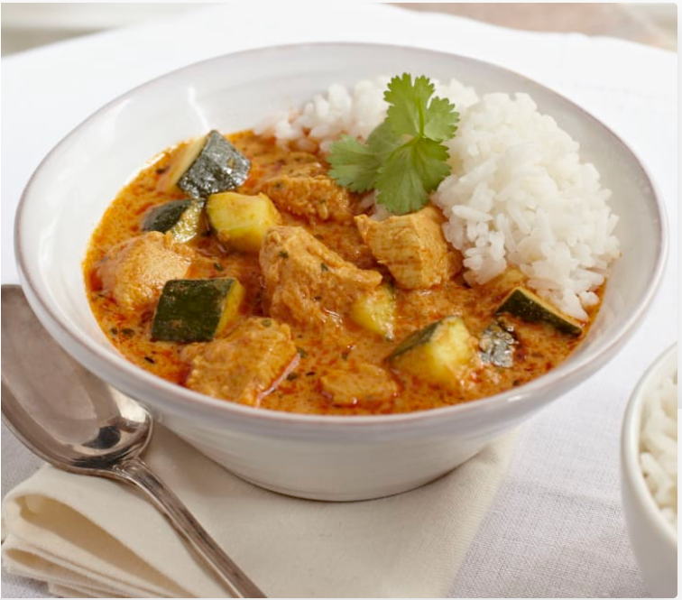 Kurczak w jogurtowym sosie curry