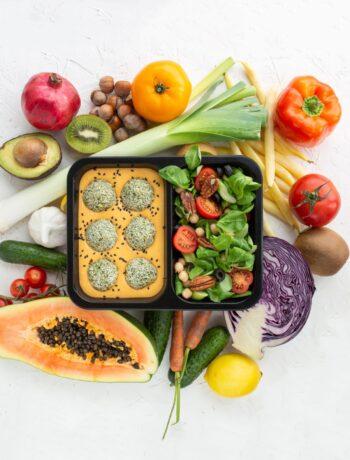 wegański catering dietetyczny
