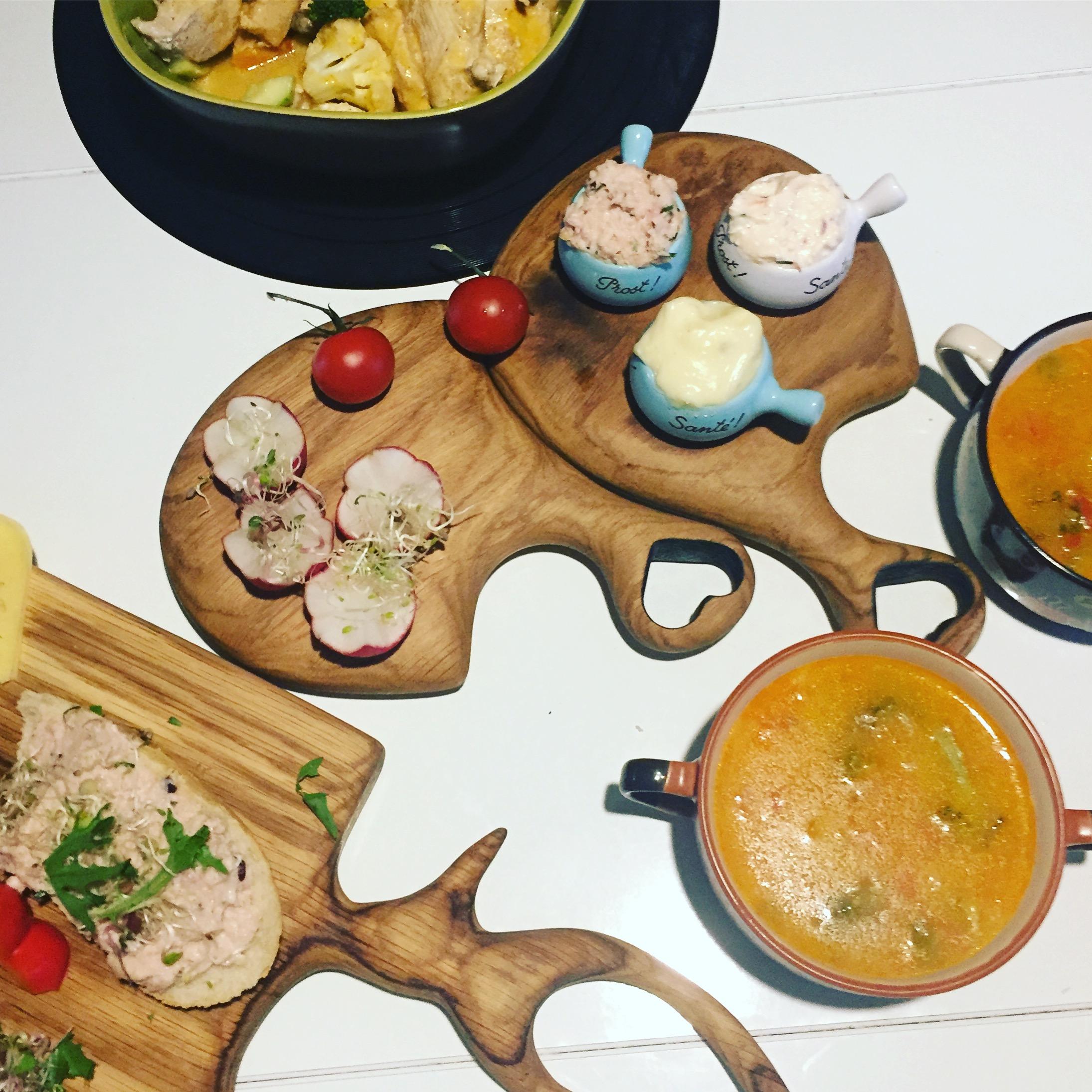 zupa jarzynowa z kurczakiem i danie na Varomie