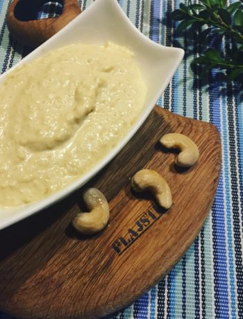 Majonez z orzechów nerkowca (bez jajek, mleka, glutenu)