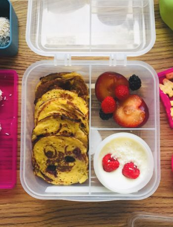 lunchbox z jaglanym rafaello