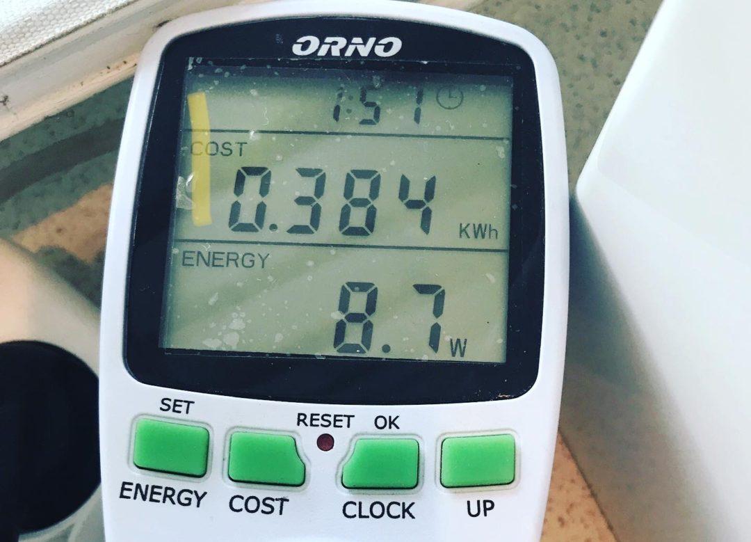 ile prądu zużywa Thermomix