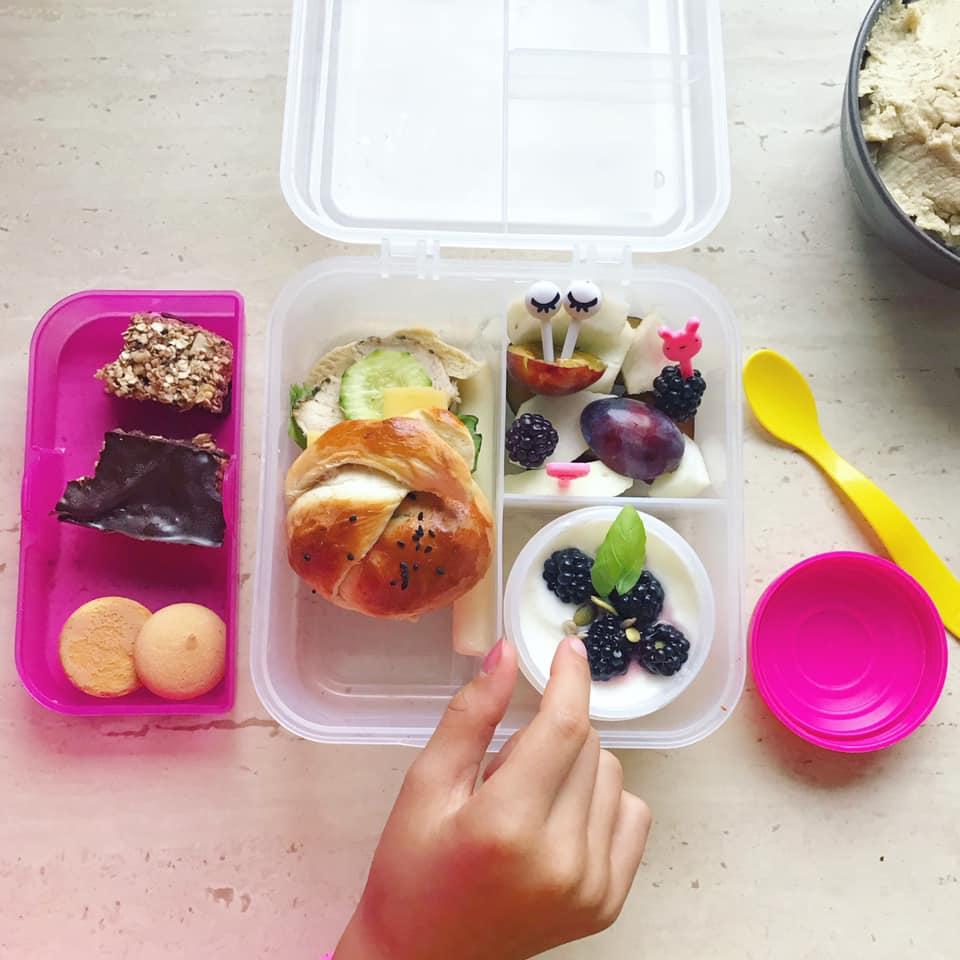 Lunchbox do szkoły sistema