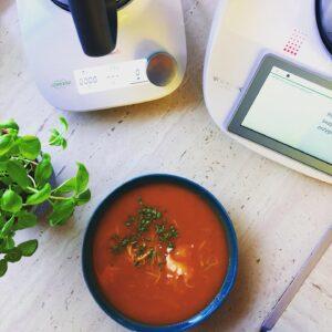 Zupa pomidorowa z makaronem z Thermomix Fiend