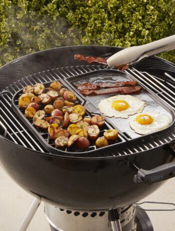 śniadanie na grilla